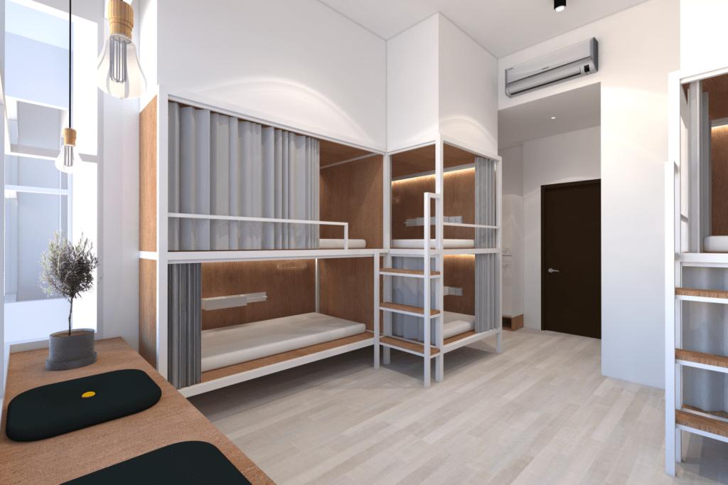 Dorm Type A_2 - 8 Pax Wayfarer Hotel